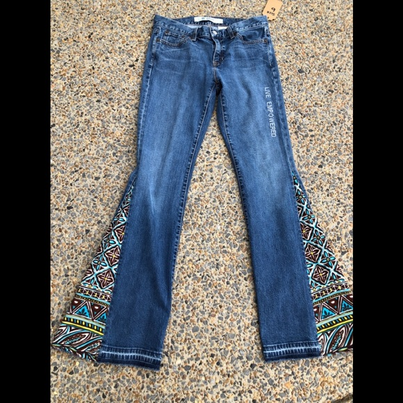 Bell bottom jeans hippie discount